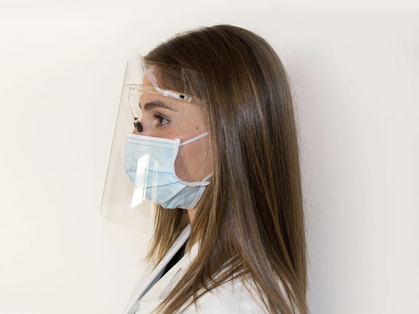 Visiera Protettiva / Protective Face Visor MOD. SP-2001/2001-AF - Healthcare by Silcon Plastic