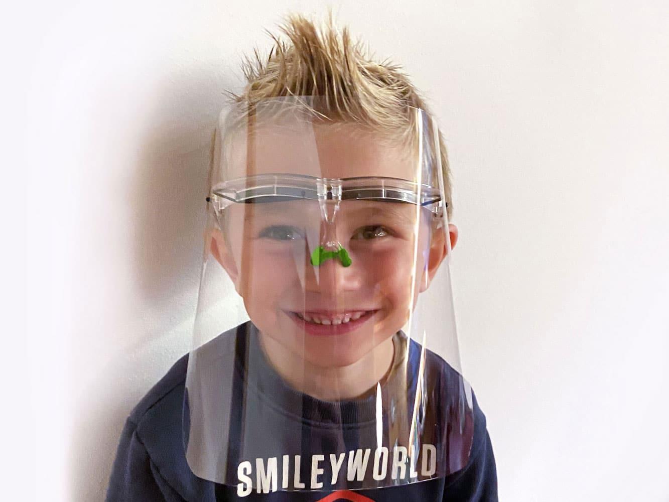 Visiera Protettiva Bambino / Protective Face Visor Kids MOD. SP-2001 SMALL - Healthcare by Silcon Plastic